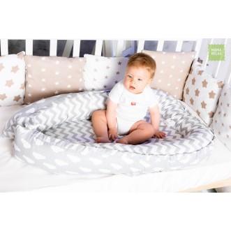Купить гнездышко для новорожденного Зефир Mama Relax в магазине Lux Postel