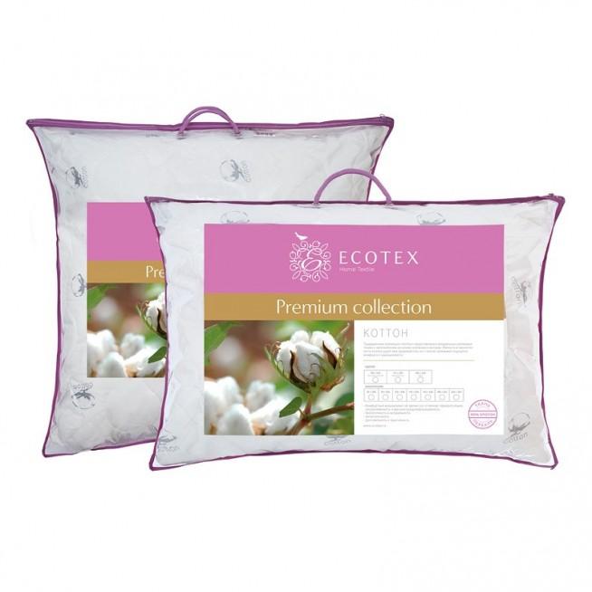 Купить подушку Коттон 50х70 Ecotex в магазине Lux Postel