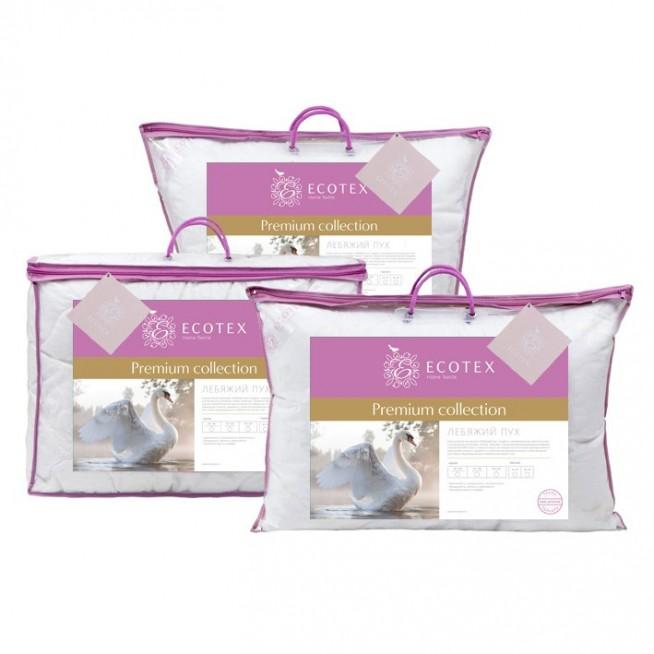 Купить подушку Лебяжий пух 70х70 Ecotex в магазине Lux Postel