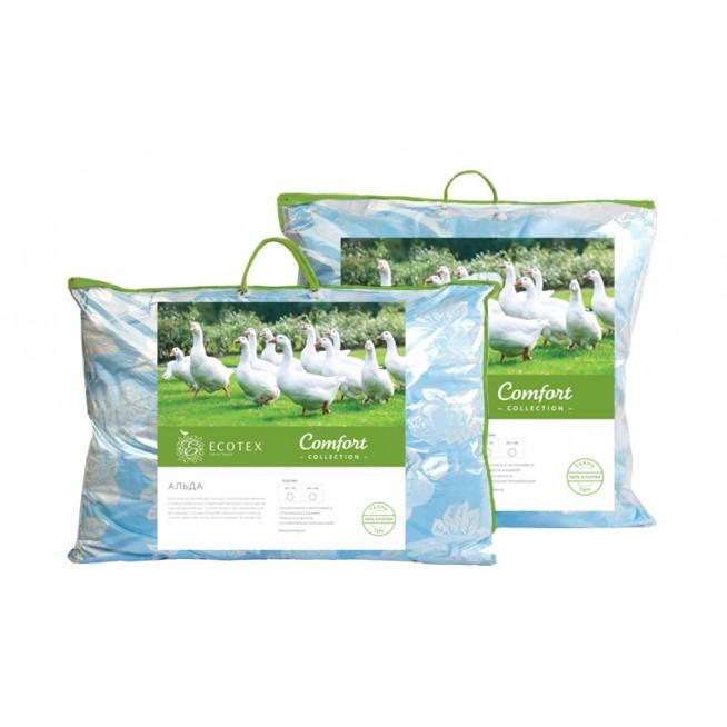Купить подушку Альда полупуховая 50х70 Ecotex в магазине Lux Postel