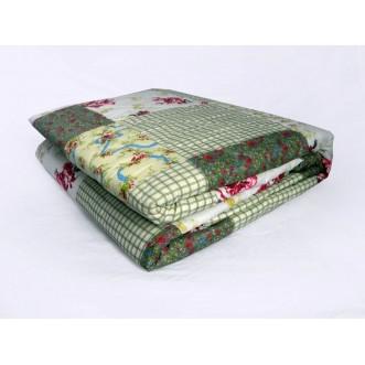 Купить одеяло халлофайбер микрофибра легкое 1/5 спальное Сайлид