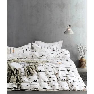 Купить постельное белье твил TPIG4-741 1/5 спальное Tango