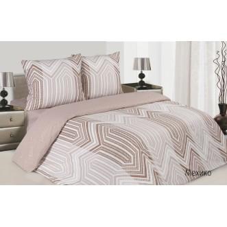 Купить постельное белье поплин 2 спальное Мехико Экотекс