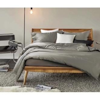 Купить постельное белье мако сатин Однотонное CIS07-15 евро Cristelle