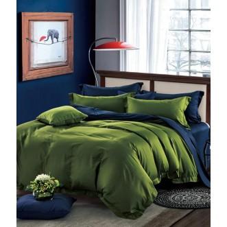 Купить постельное белье мако сатин Однотонное CIS07-21 евро Cristelle