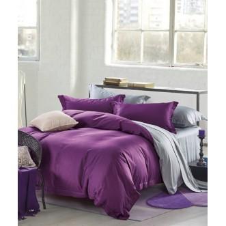 Купить постельное белье мако сатин Однотонное CIS07-23 евро Cristelle
