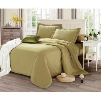Купить постельное белье мако сатин Однотонное CIS07-16 евро Cristelle