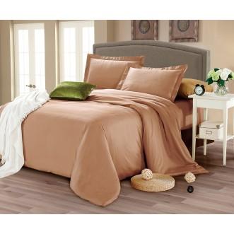 Купить постельное белье мако сатин Однотонное CIS07-24 евро Cristelle