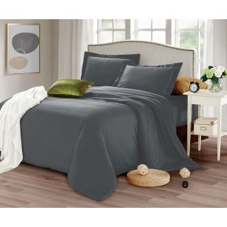 Купить постельное белье мако сатин Однотонное CIS07-26 евро Cristelle