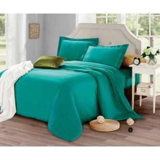 Купить постельное белье мако сатин Однотонное CIS07-27 евро Cristelle