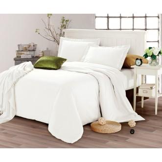 Купить постельное белье мако сатин Однотонное CIS07-28 евро Cristelle