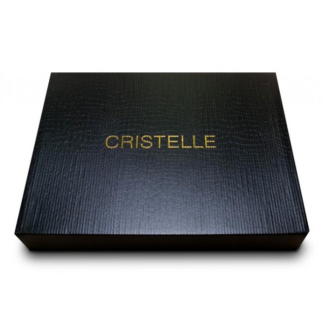 Постельное белье однотонное мако сатин CIS07-29 евро Cristelle