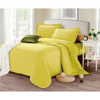 Купить постельное белье мако сатин Однотонное CIS07-30 евро Cristelle