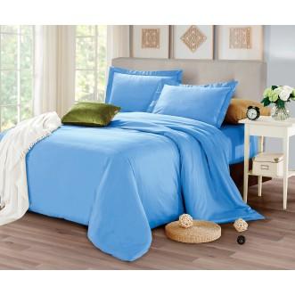 Купить постельное белье мако сатин Однотонное CIS07-31 евро Cristelle