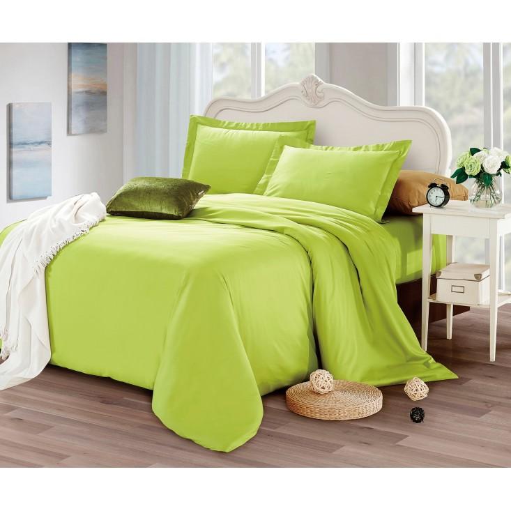 Купить постельное белье мако сатин Однотонное CIS07-33 евро Cristelle
