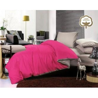 Купить постельное белье Однотонное простынь на резинке JT02 евро Tango