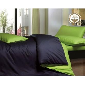 Купить постельное белье Однотонное простынь на резинке JT09 евро Tango