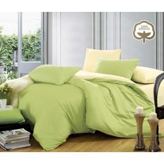 Купить постельное белье Однотонное простынь на резинке JT27 евро Tango