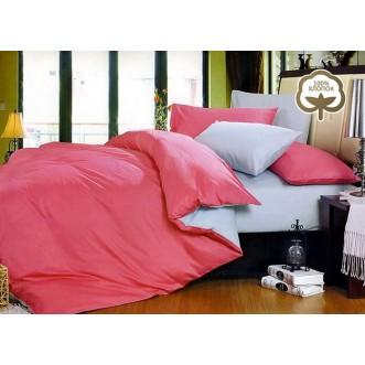 Купить постельное белье Однотонное простынь на резинке JT28 евро Tango