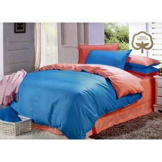 Купить постельное белье Однотонное простынь на резинке JT41 евро Tango