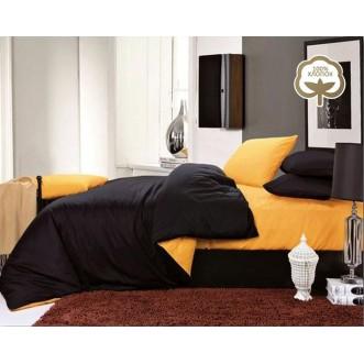 Купить постельное белье Однотонное простынь на резинке JT05 евро Tango