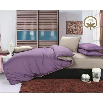 Купить постельное белье Однотонное простынь на резинке JT08 евро Tango