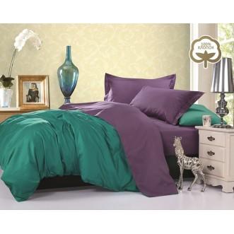 Купить постельное белье Однотонное простынь на резинке JT21 евро Tango