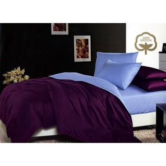 Купить постельное белье Однотонное простынь на резинке JT33 евро Tango