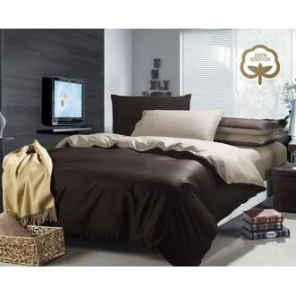 Купить постельное белье Однотонное простынь на резинке JT46 евро Tango