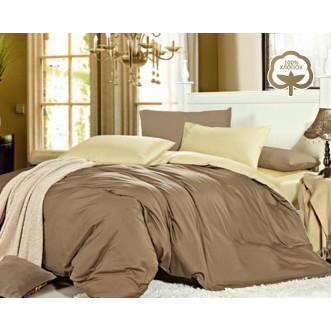 Купить постельное белье Однотонное простынь на резинке JT29 евро Tango