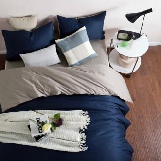 Купить постельное белье Однотонное простынь на резинке JT101 евро Tango