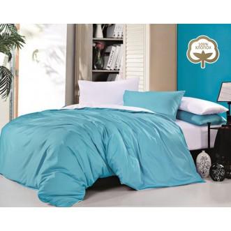 Купить постельное белье Однотонное простынь на резинке JT15 евро Tango