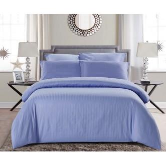 Купить постельное белье Однотонное страйп сатин CST05-05 семейный «Дуэт» Tango