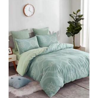Купить постельное белье жаккард WC03-14 евро Tango