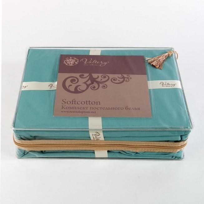 Купить постельное белье Однотонное семейное MO-40 Valtery