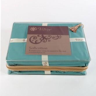 Купить постельное белье Однотонное евро MO-45 Valtery