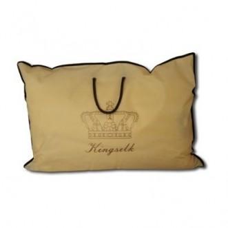 Подушка Elisabette Элит персиковая фото lux-postel.com