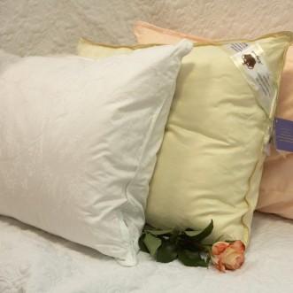 Подушка Elisabette Элит бежевая 50x70 E-A50-1