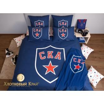 Постельное белье СКА ХК 2 спальное Хлопковый край