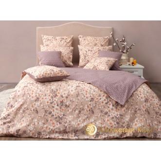 Постельное белье Сакура тауп 1,5-спальное Хлопковый край