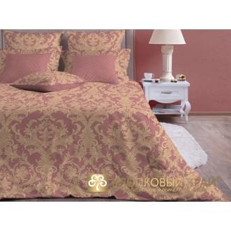 Постельное белье Неаполь марсала 1,5-спальное Хлопковый край