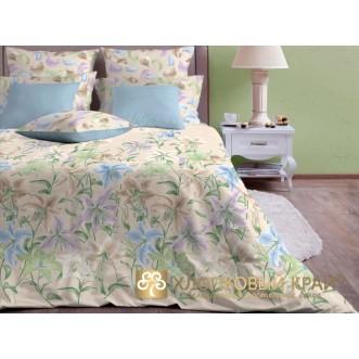 Постельное белье Лион пастель 1,5-спальное Хлопковый край