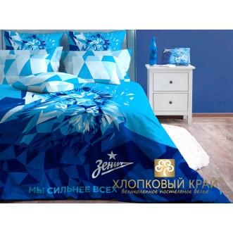 Постельное белье Зенит Лев 1,5-спальное Хлопковый край