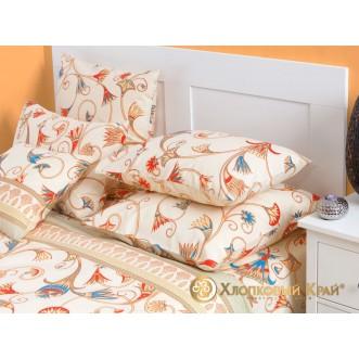 Постельное белье Египет семейное Хлопковый край фото