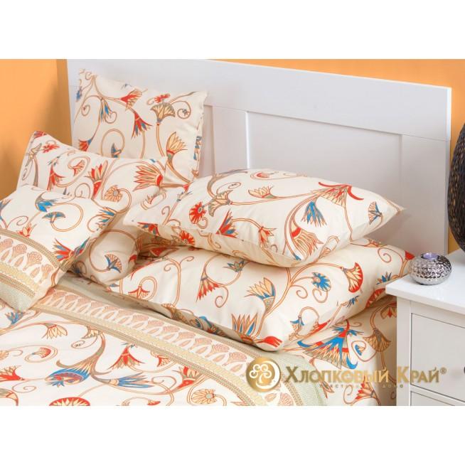 Постельное белье Египет 1,5-спальное Хлопковый край фото