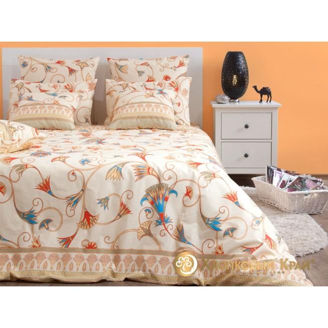Постельное белье Египет 1,5-спальное Хлопковый край