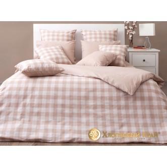 Постельное белье Дерби беж 1,5-спальное Хлопковый край