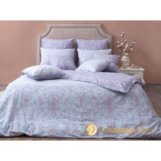 Постельное белье Генуя серый 1,5-спальное Хлопковый край