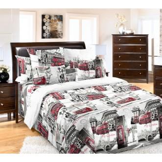 постельное белье Лондон Евро бязь Чебоксарский текстиль
