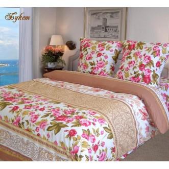 постельное белье Букет Евро бязь Чебоксарский текстиль